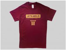 """""""Lietkabelio"""" sirgaliaus marškinėliai"""
